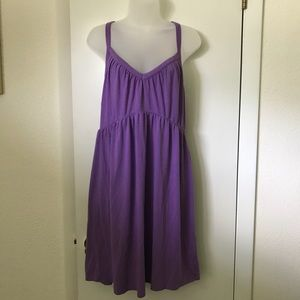 Purple Mossimo Bathing suit cover